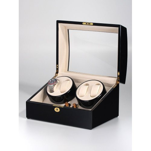 Rothenschild Watch Winder for 4 + 5 Watches RS-1205-BL