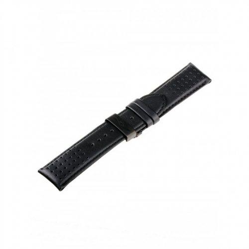 Universal Replacement Strap [24 mm black + black folding clasp Ref. 23834