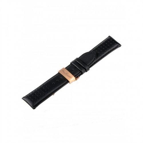 Universal Replacement Strap [24 mm black + rosé Ref. 23835