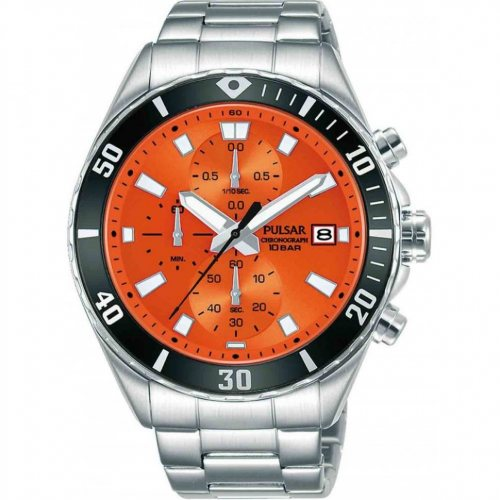 Pulsar PM3193X1 chronograph 45mm 10ATM