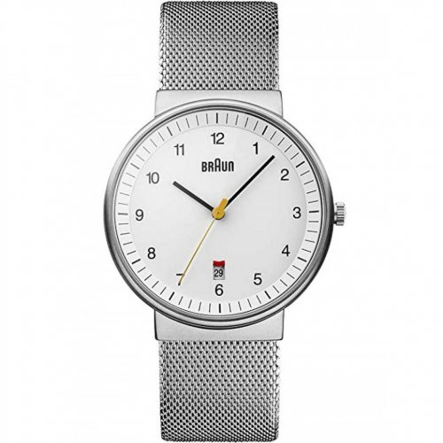 Braun BN0032WHSLM men`s watch 40mm 5ATM