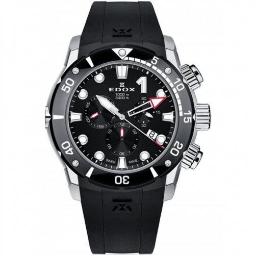 Edox 10242-TIN-NIN CO-1 chronograph Titanium 45mm 100ATM