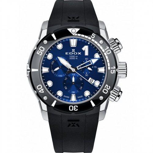 Edox 10242-TIN-BUIN CO-1 chronograph Titanium 45mm 100ATM