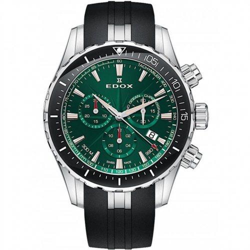 Edox 10248-3-VIBN Grand Ocean chronograph 43mm 30ATM