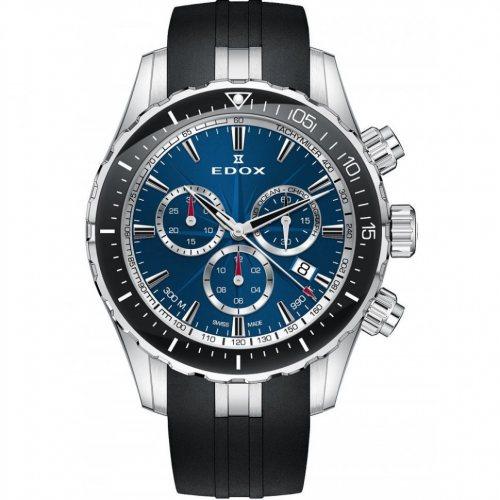 Edox 10248-3-BUINN Grand Ocean chronograph 43mm 30ATM