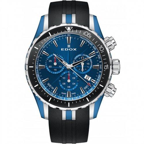 Edox 10248-357BU-BUIN Grand Ocean chronograph 43mm 30ATM