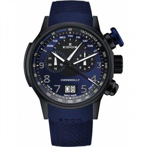 Edox 38001-TINNBUF3-BUF3 Chronorally chronograph 48mm 10ATM