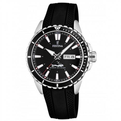 Festina F20378/1 Diver's Watch 45mm 20ATM